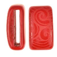 Clay River / Lillypilly Slider Flat 20mm Wave - Red
