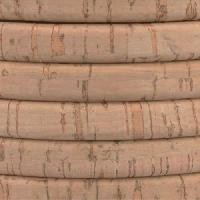 Regaliz Portuguese Cork 10mm Oval Cord - Natural