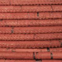Portuguese 5mm ROUND Cork Cord - Dusty Rose