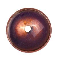 C-Koop Copper Enamel Rivetable / Stackable Disc 19mm - Wisteria