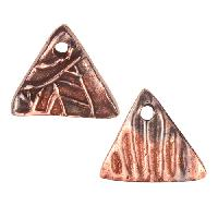 Dorabeth Mixed Metal Charm - Triangle Small