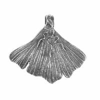 Dorabeth Pendant Gingko Leaf Medium - Antique