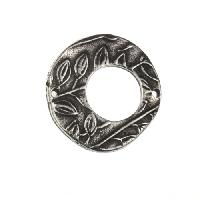Dorabeth Link - Round Flower - Antique