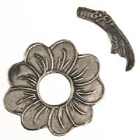 Dorabeth Toggle - Flower - Antique (Ari Collection)