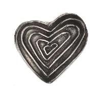 Dorabeth Slide - Heart Multi - Antique