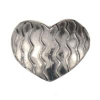 Dorabeth Slide - Heart Wavy Lines - Bright
