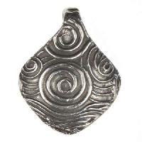 Dorabeth Pendant Diamond Swirl - Antique