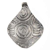Dorabeth Pendant Diamond Swirl - Bright