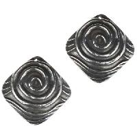 Dorabeth Drop Diamond Swirl (2) - Antique