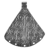 Dorabeth Pendant Spanish Simple - Antique