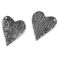 Dorabeth Charm Heart Star - Antique
