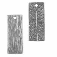 Dorabeth Pendant Drop Slanted Lines (2) - Antique