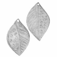 Dorabeth Pendant Drop Abstract Leaf Small (2) - Bright