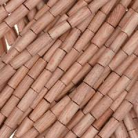Rosewood Bead Tube 2x6mm