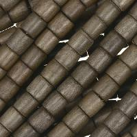 Graywood Bead Tube 6x6mm - strand