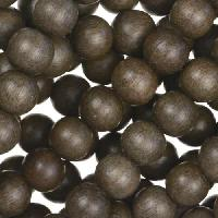 Graywood Bead Round 8mm - strand