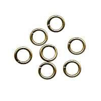 Jump Ring 4mm 20g (100) - Antique Brass