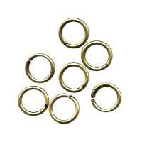 Jump Ring 6mm 18g (40) - Antique Brass