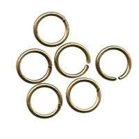 Jump Ring 8mm 18g (20) - Antique Brass