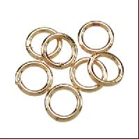 Jump Ring 8mm 18g (30) - Electro Plated Gold