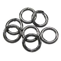 Jump Ring 8mm 18g (30) - Gunmetal
