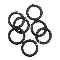 Jump Ring 8mm 18g (30) - Nite Black