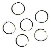Jump Ring 8mm 18g (30) - Silver