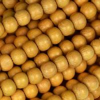 Jackfruit (Nangka) Wood Bead Round 6mm