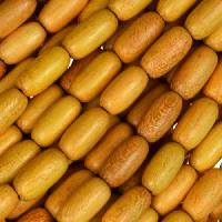 Jackfruit (Nangka) Wood Bead Rice Beads 5x10mm - strand