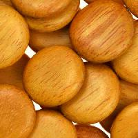 Jackfruit (Nangka) Wood Bead Coin 20mm - strand