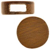 Robles Wood Slide Large Hole Round Flat 20mm - piece