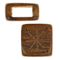 Robles Wood Slide Large Hole Square Star / Dots 14mm