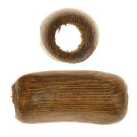 Robles Wood Slide Large Hole Tube Curved 20x10mm