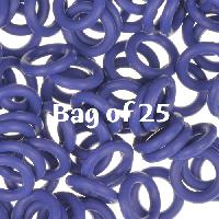 10mm Rubber O-Rings BAG of 25 - Blueberry