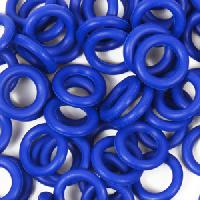10mm Rubber O-Ring Spacer - Cobalt