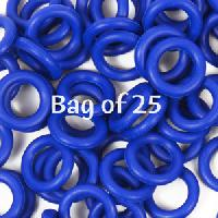 10mm Rubber O-Rings BAG of 25 - Cobalt