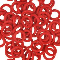 10mm Rubber O-Ring Spacer - Dark Red