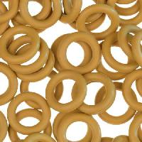 10mm Rubber O-Ring Spacer - Ginger
