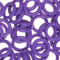 10mm Rubber O-Ring Spacer - Grape