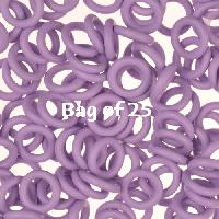 10mm Rubber O-Rings BAG of 25 - Heather