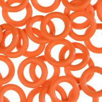 10mm Rubber O-Ring Spacer - Orange