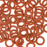 10mm Rubber O-Ring Spacer - Rust