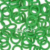 10mm Rubber O-Rings BAG of 25 - Shamrock