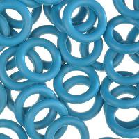 10mm Rubber O-Ring Spacer - Teal