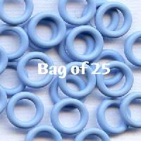 10mm Rubber O-Rings BAG of 25 - Blue Ice