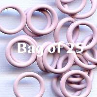 10mm Rubber O-Rings BAG of 25 - Light Lilac