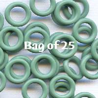 10mm Rubber O-Rings BAG of 25 - Sage