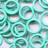 12mm Rubber O-Ring Spacer - Aqua