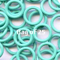 12mm Rubber O-Rings BAG of 25 - Aqua