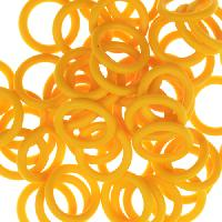 12mm Rubber O-Ring Spacer - Buttercup